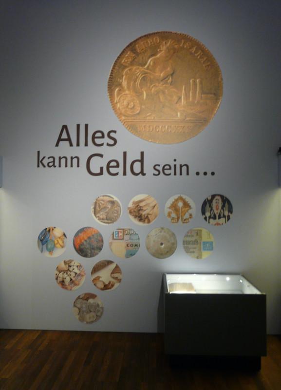 Ankündigung der Ausstellung